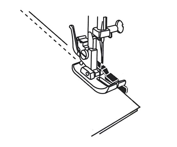 Лапка для работ с припуском 1/4 (6 мм) 200330008 фото №4