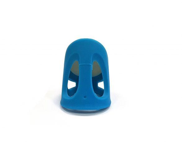 Наперсток эргономичный, размер 18мм (XL) (лазурный) 431143 фото №2