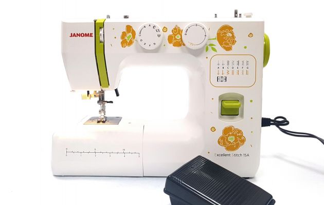JANOME EXCELLENT STITCH 15A JANOME Excellent Stitch 15A  фото №7