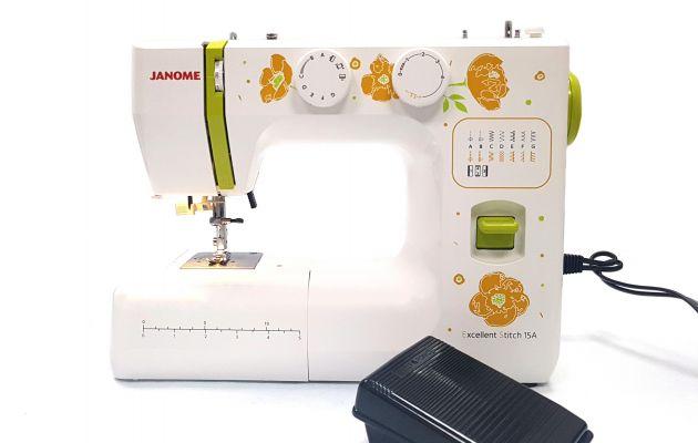 JANOME Excellent Stitch 15A электромеханическая швейная машина JANOME Excellent Stitch 15A  фото №7