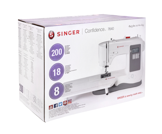 SINGER CONFIDENCE 7640 SINGER CONFIDENCE 7640 фото №10