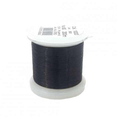 Прозрачная швейная нитка Monofil, темная (200 м) 9760 фото №1