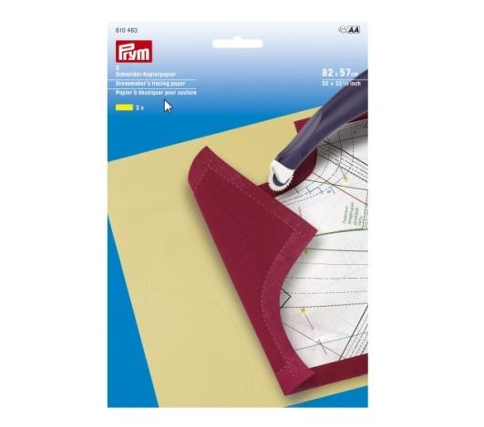 Копировальная бумага, вощеная (желтая) 610463 фото №1