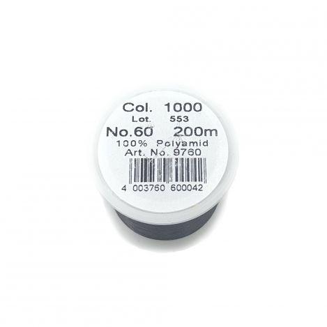 Прозрачная швейная нитка Monofil, темная (200 м) 9760 фото №2