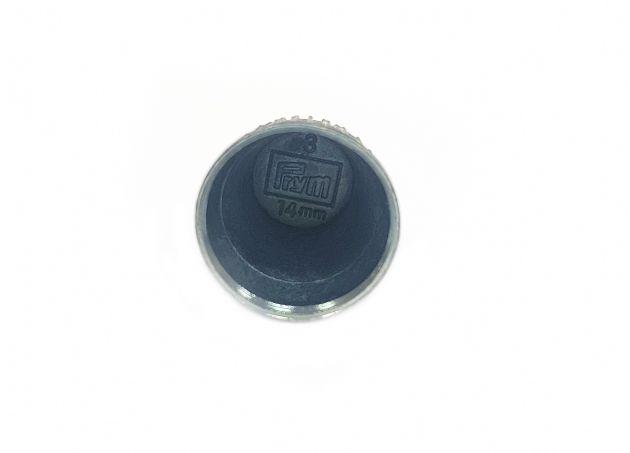 Наперсток с противоскользящей кромкой, размер 14 мм 431833/14 мм фото №3
