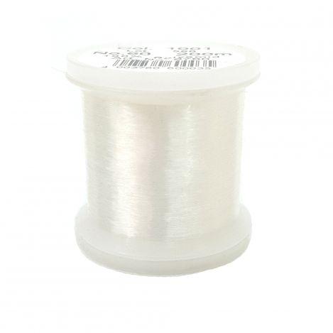 Прозрачная швейная нитка Monofil, светлая (200 м) 9760 фото №1