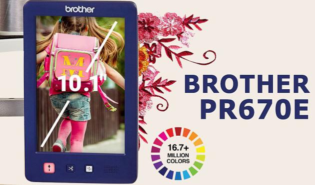 BROTHER PR 670E PR 670E фото №3