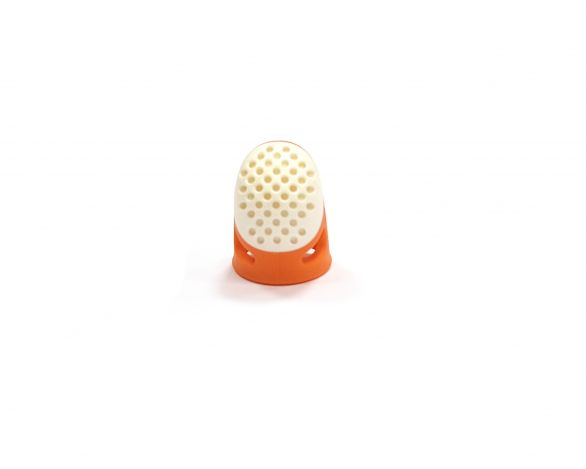 Наперсток эргономичный, размер 15мм (S) (оранжевый цвет)  Prym 431140 фото №1
