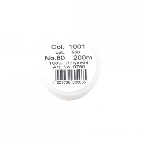 Прозрачная швейная нитка Monofil, светлая (200 м) 9760 фото №2