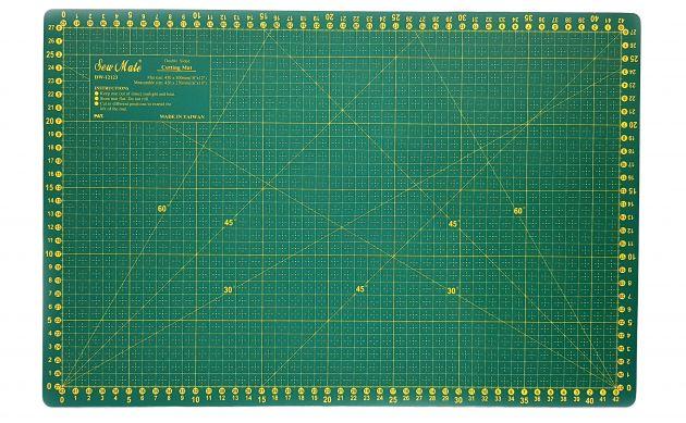 Коврик для раскройных ножей, двухсторонний (30x45см)  DW-12123 фото №1