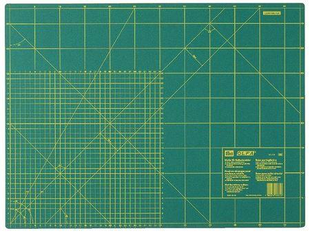 Коврик для резки с шкалой см/дюймы (90x60см) 611382 фото №1