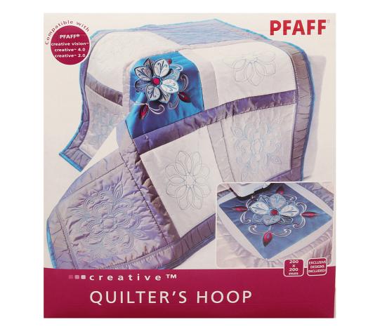 Пяльцы Pfaff Quilter's Hoop (200*200 мм) + 4 дизайна (Арт. 820940096) 820940096 фото №1