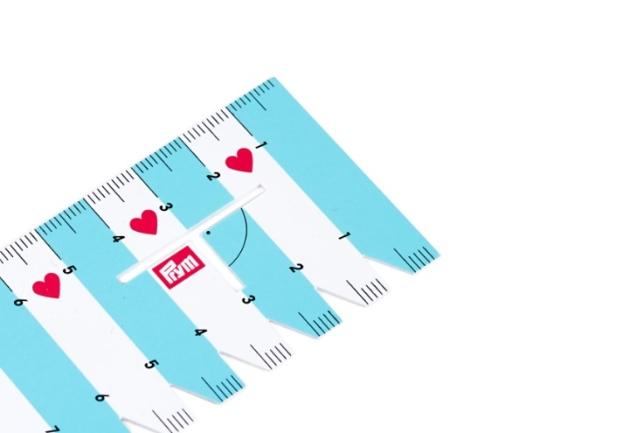 Линейка для разметки и измерения «Love» 610728 фото №2