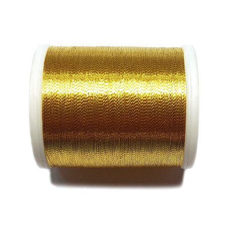 Вышивальная нитка Metallic №40 Gold 6 фото №1