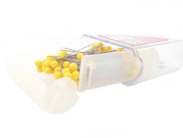 Булавки с пластиковыми головками, средние (0,60х48мм) NS012 фото №3