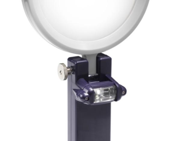 Лупа с ручкой и светодиодной лампой (LED) 610380 фото №2