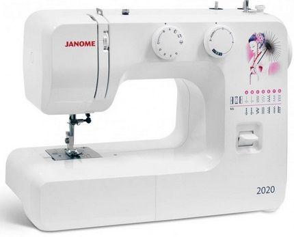 JANOME 2020 электромеханическая швейная машина JANOME 2020 фото №1