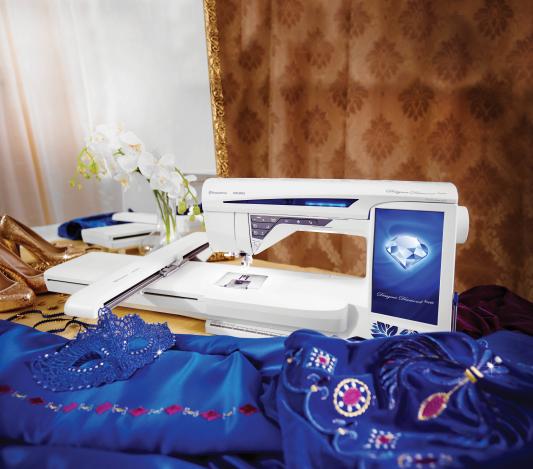 HUSQVARNA DESIGNER DIAMOND ROYALE HUSQVARNA DESIGNER DIAMOND ROYALE фото №3