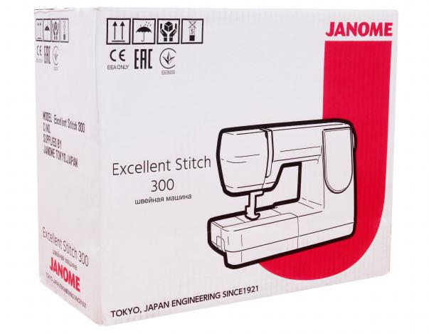 JANOME EXCELLENT STITCH 300 JANOME Excellent Stitch 300 фото №11