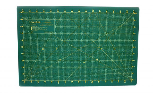 Коврик для раскройных ножей, двухсторонний (30x45см)  DW-12123 фото №2