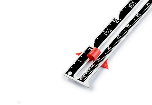 Линейка для шитья и вязания (см/дюймы) 611738 фото №2