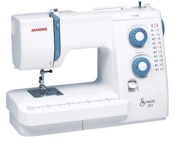 JANOME SEWIST 521 электромеханическая швейная машина JANOME SEWIST 521 фото №1