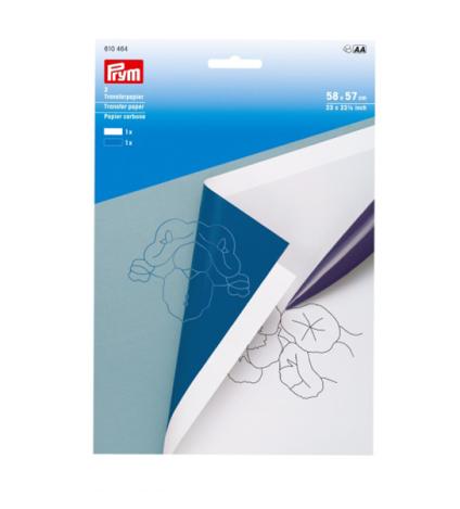 Переводная бумага, вощеная (белая+синяя) 610464 фото №1