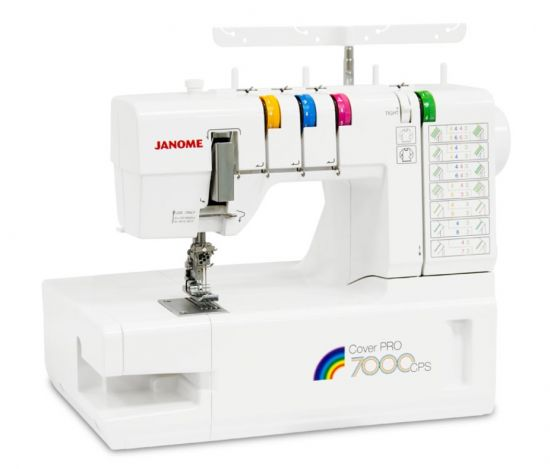 JANOME COVER PRO 7000 JANOME Cover Pro 7000CPS фото №1