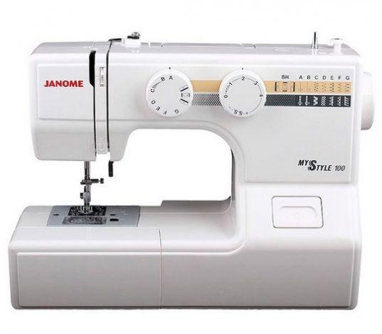 JANOME MS 100 электромеханическая швейная машина JANOME MS 100 фото №1