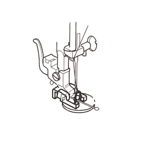 Лапка для пришивания пуговиц без ножки 200131007 фото №3