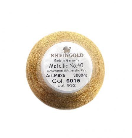 Нитка METALLIC (GOLD) 6015 фото №2