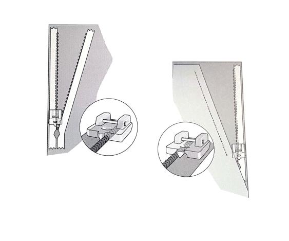 Лапка для потайной молнии (прозрачная) 820474096 фото №3