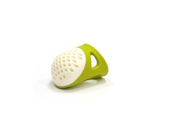 Наперсток эргономичный, размер 17мм (L) (зеленый цвет) Prym 431142 фото №1