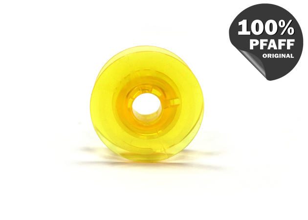 Шпулька пластиковая (желтый) (20,2*8,2 мм) 820921096 фото №3