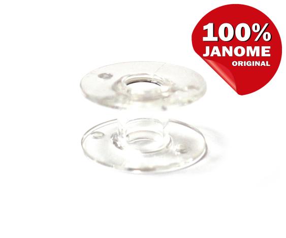 Шпулька прозрачная пластиковая (20,5*11,7 мм) 01675 фото №2