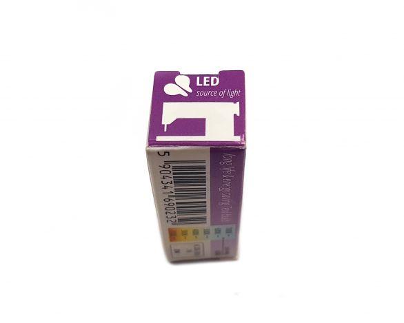 Светодиодная лампочка винт.крепление (2Вт/220В) LED E14 фото №5