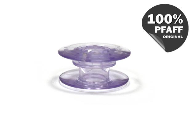 Шпулька пластиковая (светлый фиолетовый) (20,2*8,2 мм) 820921096 фото №2