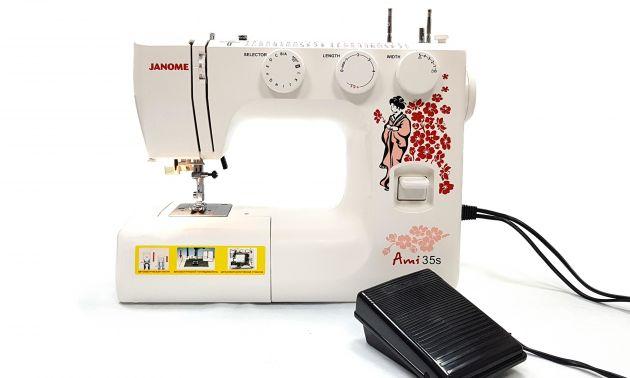 JANOME Ami 35 электромеханическая швейная машина Janome Ami 35 фото №8