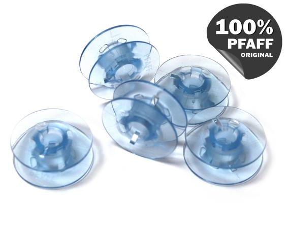 Шпулька голубая пластиковая (21,2*7,2 мм) 820779096 фото №1