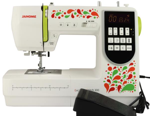 JANOME EXCELLENT STITCH 300 JANOME Excellent Stitch 300 фото №3
