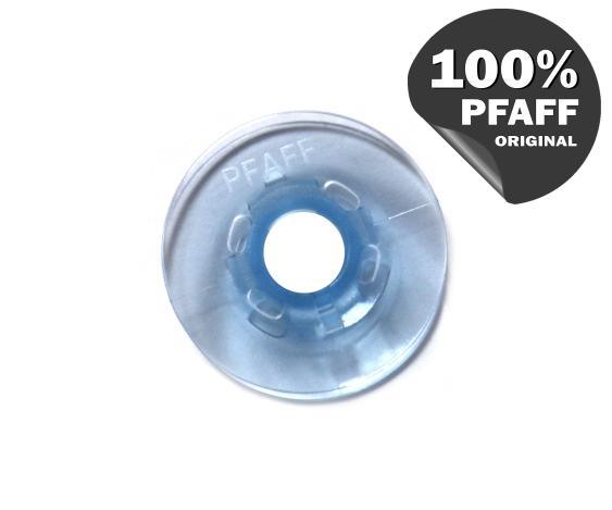 Шпулька голубая пластиковая (21,2*7,2 мм) 820779096 фото №4
