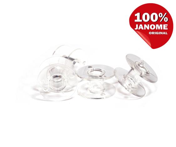 Шпулька прозрачная пластиковая (20,5*11,7 мм) 01675 фото №1