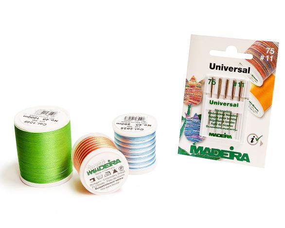 Иглы Madeira Embroidery №75 9450 фото №2