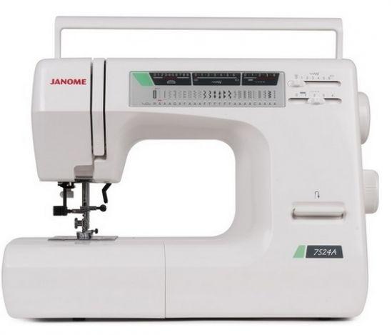 JANOME 7524A электромеханическая швейная машина JANOME 7524A фото №1