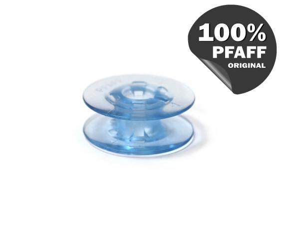 Шпулька голубая пластиковая (21,2*7,2 мм) 820779096 фото №2