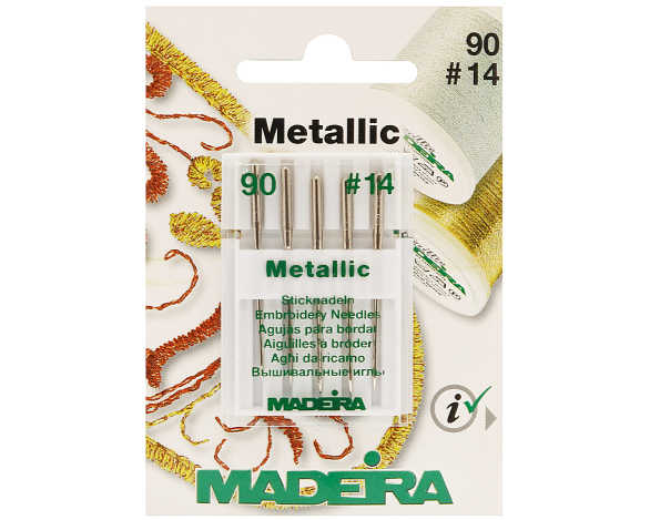 Иглы Metallic №90 9451 фото №1