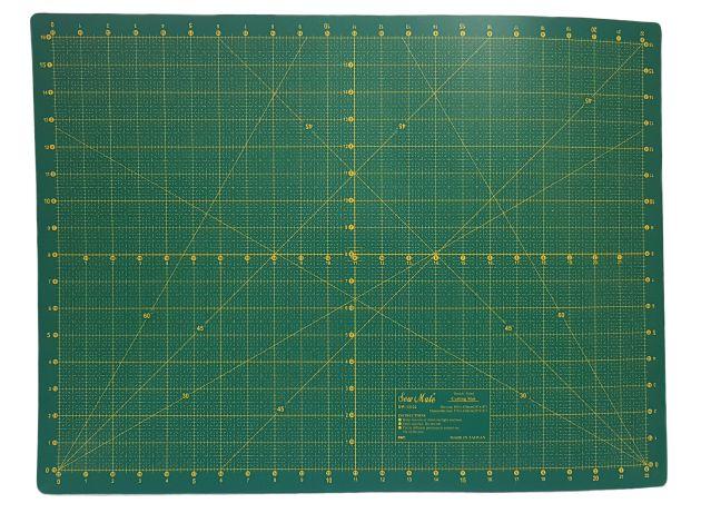 Коврик для раскройных ножей, двухсторонний (45x60см) DW-12122 фото №1