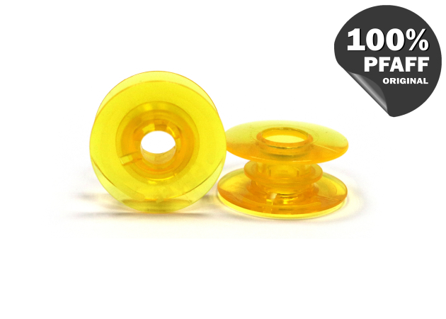 Шпулька пластиковая (желтый) (20,2*8,2 мм) 820921096 фото №1