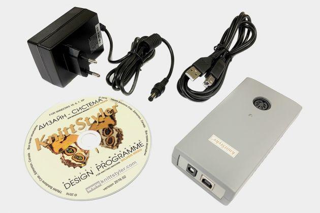 KNITT STYLER USB (модуль связи и ПО для электронных вязальных машин Silver Reed) KnittStyler USB фото №2