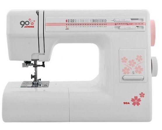 JANOME 90A электромеханическая швейная машина JANOME 90A фото №1